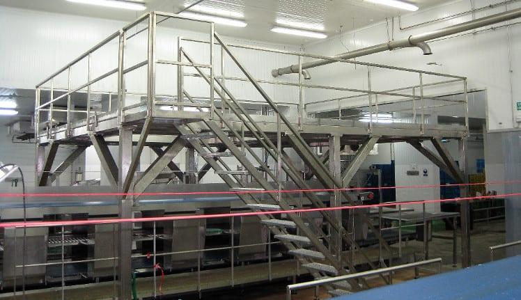 Accesorios para Plantas de Producción